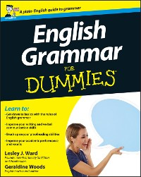 Cover English Grammar For Dummies, UK Edition