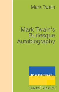 Cover Mark Twain's Burlesque Autobiography