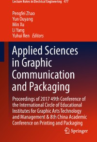 Cover Applied Sciences in Graphic Communication and Packaging