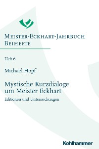 Cover Mystische Kurzdialoge um Meister Eckhart