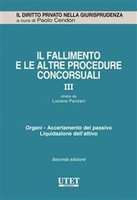 Cover Il fallimento e le altre procedure concorsuali vol. 3
