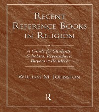 Cover Recent Reference Books in Religion