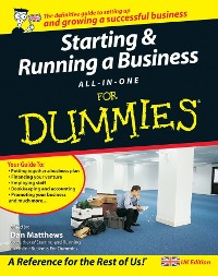 Cover Starting and Running a Business All-in-One For Dummies