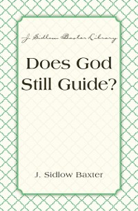 Cover Does God Still Guide?