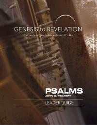 Cover Genesis to Revelation: Psalms Leader Guide