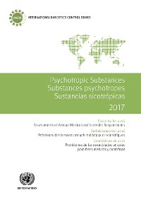 Cover Psychotropic Substances 2017 / Substances psychotropes 2017 / Sustancias sicotrópicas 2017