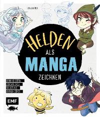 Cover Helden als Manga zeichnen