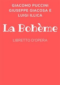 Cover La bohéme