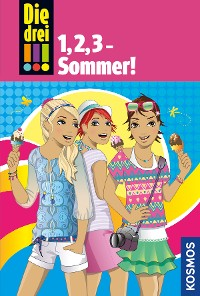 Cover Die drei !!!, 1,2,3 Sommer! (drei Ausrufezeichen)