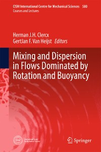 Cover Mixing and Dispersion in Flows Dominated by Rotation and Buoyancy