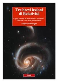 Cover Tre brevi lezioni di Relatività
