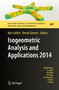 Cover Isogeometric Analysis and Applications 2014