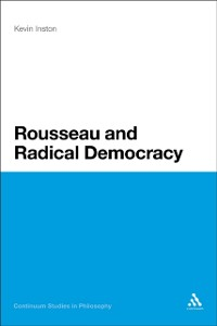 Cover Rousseau and Radical Democracy