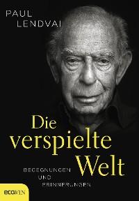 Cover Die verspielte Welt