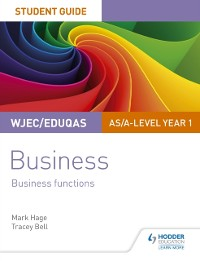 Cover WJEC/Eduqas AS/A-level Year 1 Business Student Guide 2: Business Functions