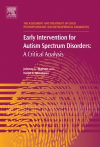 Cover Early Intervention for Autism Spectrum Disorders