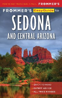 Cover Frommer's EasyGuide to Sedona & Central Arizona
