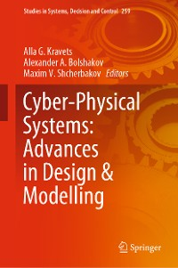 Cover Cyber-Physical Systems: Advances in Design & Modelling