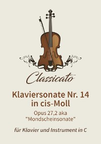 Cover Klaviersonate Nr. 14 in cis-Moll