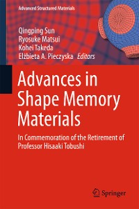 Cover Advances in Shape Memory Materials
