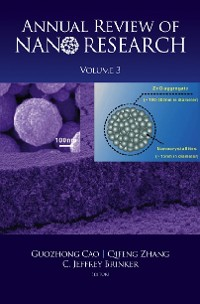 Cover Annual Review Of Nano Research, Volume 3