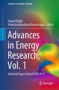 Cover Advances in Energy Research, Vol. 1