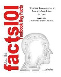 Cover Business Communication, In Person, In Print, Online