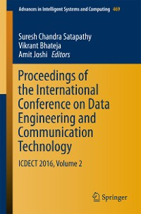Cover Proceedings of the International Conference on Data Engineering and Communication Technology