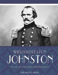 Cover Life of General Albert Sidney Johnston