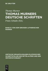 Cover Von dem großen Lutherischen Narren