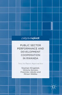 Cover Public Sector Performance and Development Cooperation in Rwanda