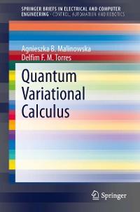 Cover Quantum Variational Calculus