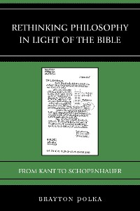 Cover Rethinking Philosophy in Light of the Bible