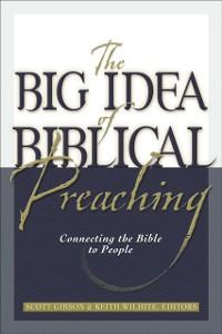 Cover Big Idea of Biblical Preaching