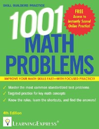 Cover 1,001 Math Problems