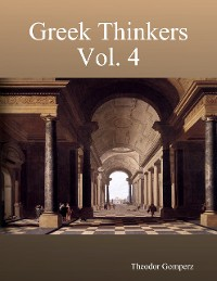 Cover Greek Thinkers Vol. 4
