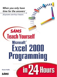 Cover Sams Teach Yourself Microsoft Excel 2000 Programming in 24 Hours