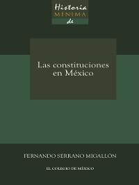 Cover Historia mínima de las constituciones en México