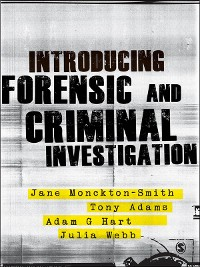 Cover Introducing Forensic and Criminal Investigation