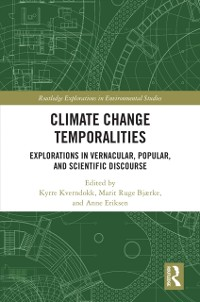 Cover Climate Change Temporalities