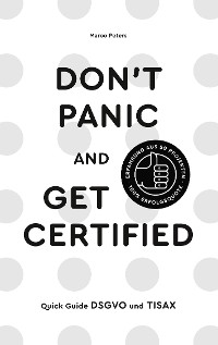 Cover Don´t Panic and Get Certified