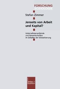 Cover Jenseits von Arbeit und Kapital?
