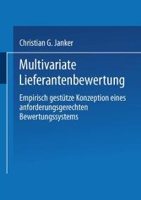Cover Multivariate Lieferantenbewertung
