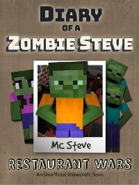 Cover Diary of a Minecraft Zombie Steve Book 2