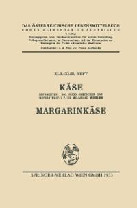 Cover Kase. Margarinkase