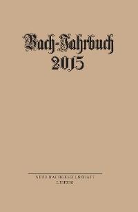 Cover Bach-Jahrbuch 2015