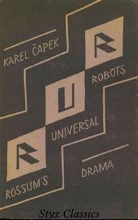 Cover R.U.R.