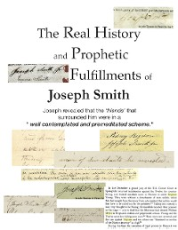 Cover The Real History and Prophetic Fulfillments of Joseph Smith