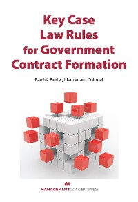 Cover Key Case Law Rules for Government Contract Formation
