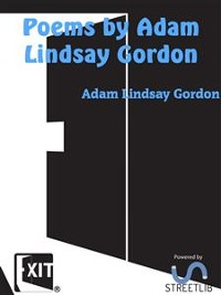 Cover Poems by Adam Lindsay Gordon